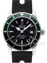 Breitling Superocean Heritage Sort/Gummi Ø42 mm