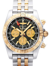 Breitling Chronomat 44 GMT Sort/Stål Ø44 mm