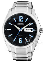 Citizen Sport Sort/Stål Ø42 mm