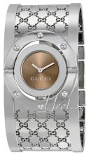 Gucci Twirl Steel Brown Dial