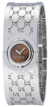 Gucci Twirl Small Steel Brown Dial