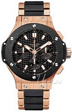 Hublot Big Bang Evolution Sort/18 karat rosa guld Ø44.5 mm