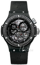 Hublot Bigger Bang All Black Sort/Gummi Ø44.5 mm