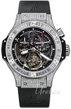 Hublot Big Bang 44.5mm Platinum Skeleton/Black Dial