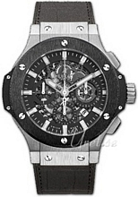 Hublot Big Bang Aero Bang Sort/Læder Ø44.5 mm