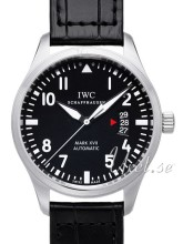 IWC Pilots Mark XVII Sort/Læder Ø41 mm
