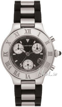 Cartier 21 Must Grey Dial Chronograph
