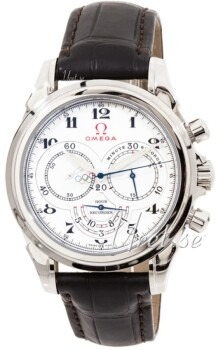 Omega Specialities Olympic Collection White Dial Leather