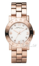Marc by Marc Jacobs Amy Hvid/Rosaguldtonet stål Ø36.00 mm