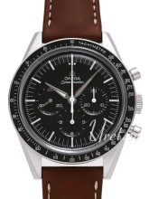 Omega Speedmaster Automatic Sort/Læder Ø39.70 mm
