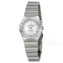Omega Constellation Polished 24 mm Steel MOP Dial