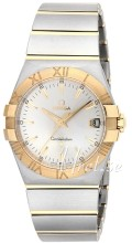 Omega Constellation Quartz 35 mm Champagne/18 karat guld Ø35 mm