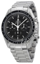 Omega Speedmaster Professional First Man on Moon Sort/Stål Ø42 m